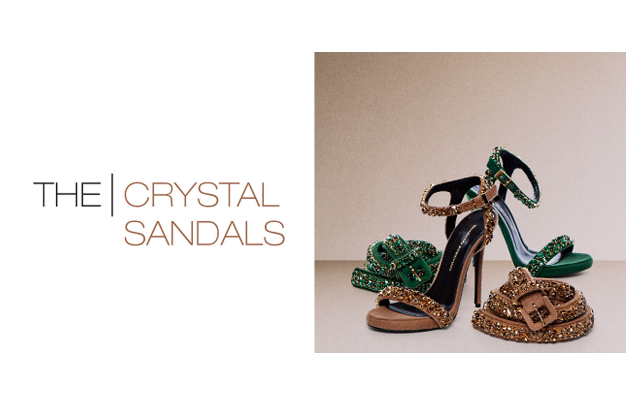 ERMANNO SCERVINO - THE CRYSTAL SANDALS