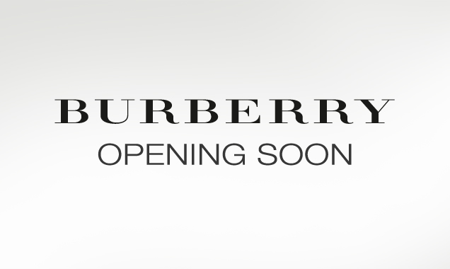 14 Dicembre 2013: Burberry re-opening
