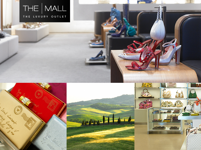 Le Vie dello Shopping di Firenze e l'Outlet The Mall