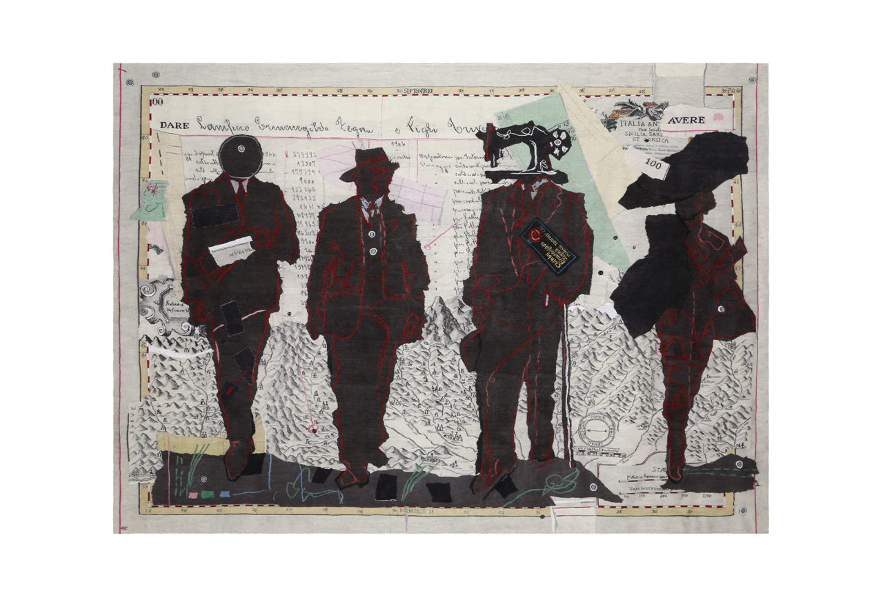 William Kentridge per Ermenegildo Zegna